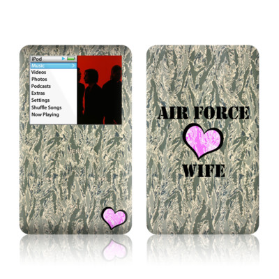 iPod Classic Skin - Air Force Wife