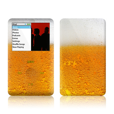 iPod Classic Skin - Beer Bubbles