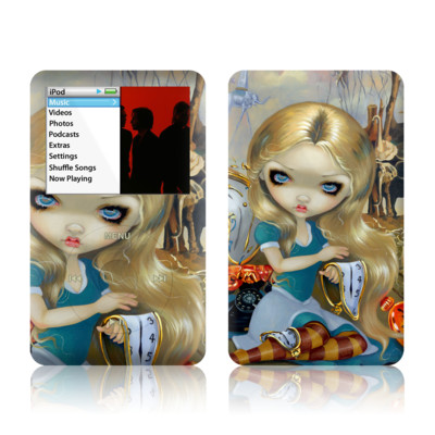 iPod Classic Skin - Alice in a Dali Dream