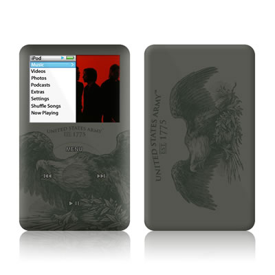 iPod Classic Skin - Army Crest