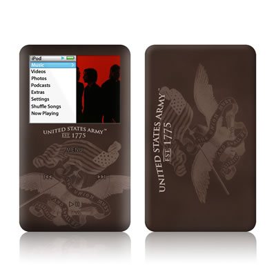 iPod Classic Skin - Army Preserved