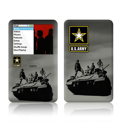 iPod Classic Skin - Army Troop