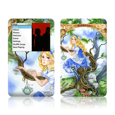 iPod Classic Skin - Alice's Tea Time