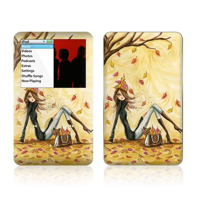iPod Classic Skin - Autumn Leaves