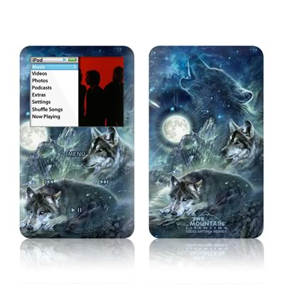 iPod Classic Skin - Bark At The Moon