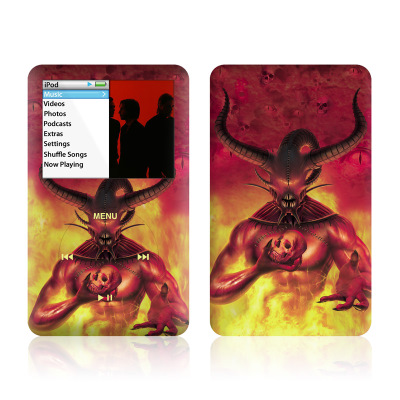 iPod Classic Skin - The Beast