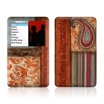 iPod Classic Skin - Be Inspired