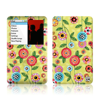 iPod Classic Skin - Button Flowers
