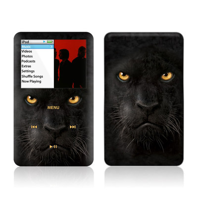 iPod Classic Skin - Black Panther