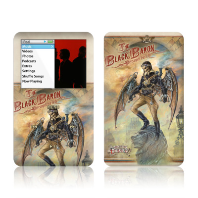 iPod Classic Skin - The Black Baron