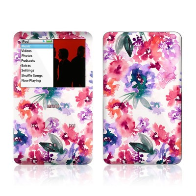 iPod Classic Skin - Blurred Flowers