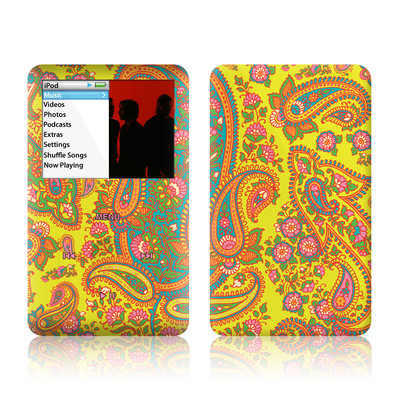 iPod Classic Skin - Bombay Chartreuse