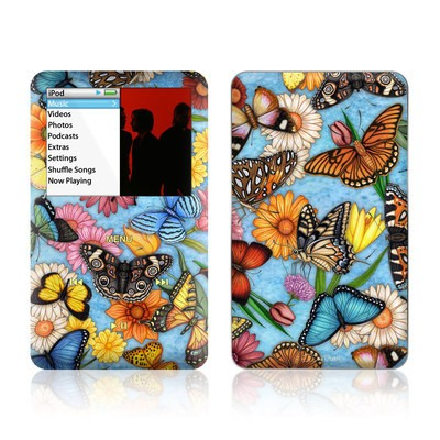 iPod Classic Skin - Butterfly Land