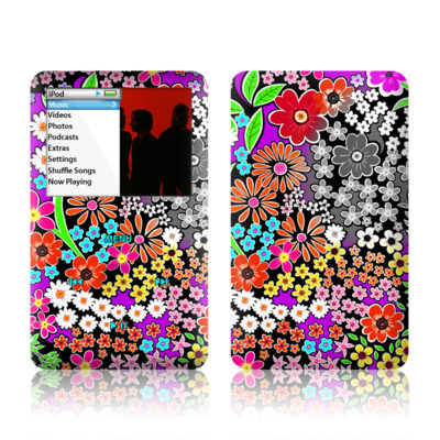 iPod Classic Skin - A Burst of Color