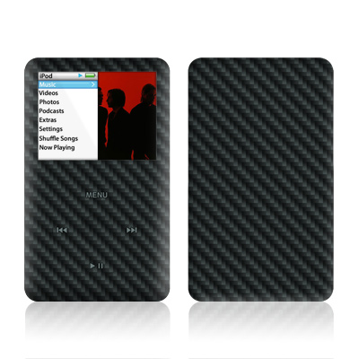 iPod Classic Skin - Carbon
