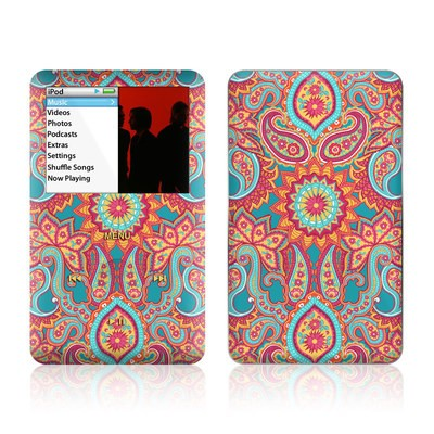 iPod Classic Skin - Carnival Paisley