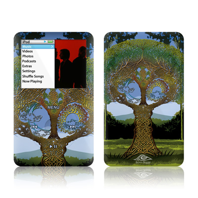 iPod Classic Skin - Celtic Tree