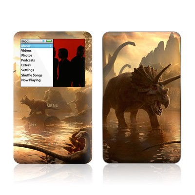 iPod Classic Skin - Cretaceous Sunset