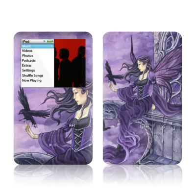 iPod Classic Skin - Dark Wings