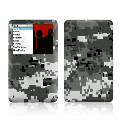 iPod Classic Skin - Digital Urban Camo