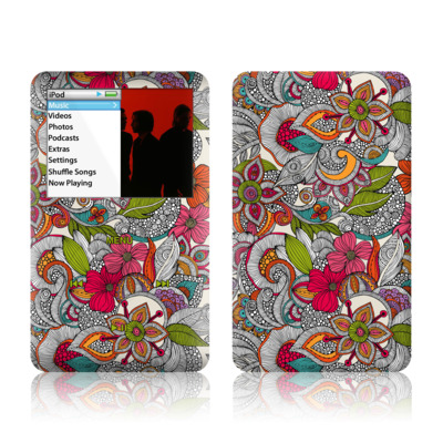 iPod Classic Skin - Doodles Color
