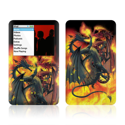 iPod Classic Skin - Dragon Wars