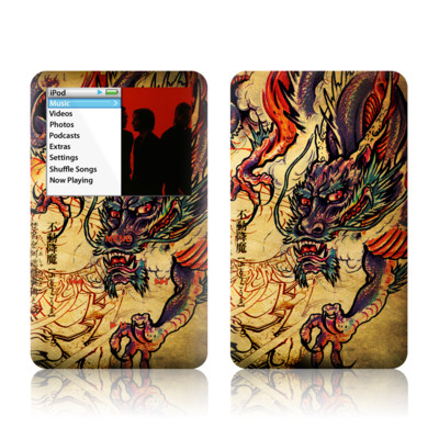 iPod Classic Skin - Dragon Legend