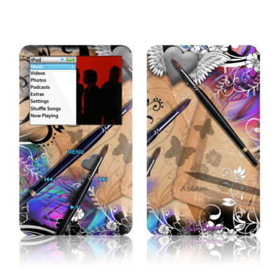 iPod Classic Skin - Dream Flowers