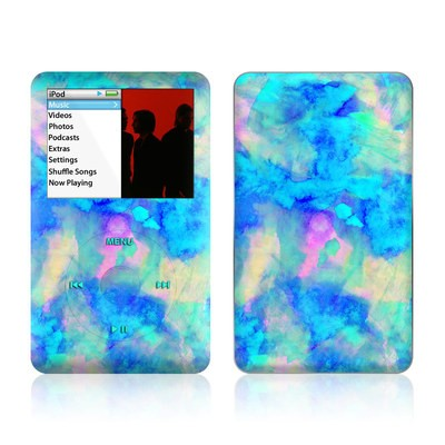 iPod Classic Skin - Electrify Ice Blue