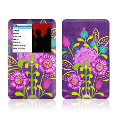 iPod Classic Skin - Floral Bouquet