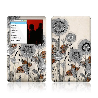 iPod Classic Skin - Four Flowers