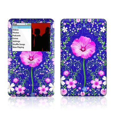 iPod Classic Skin - Floral Harmony