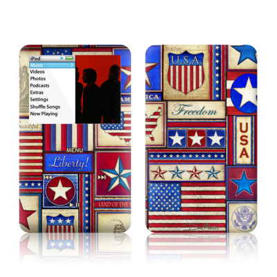 iPod Classic Skin - Flag Patchwork