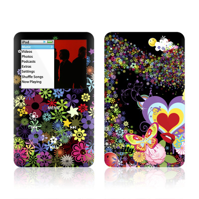 iPod Classic Skin - Flower Cloud