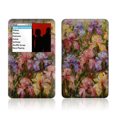 iPod Classic Skin - Field Of Irises