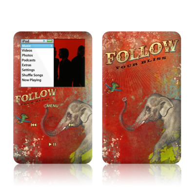 iPod Classic Skin - Follow Your Bliss