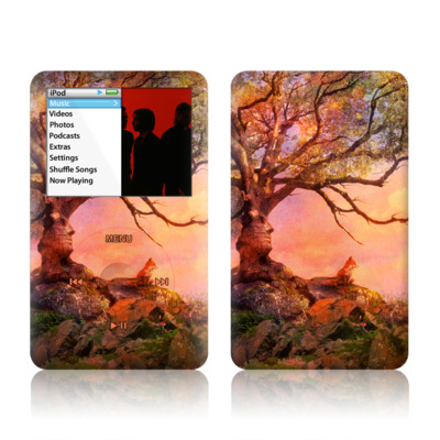 iPod Classic Skin - Fox Sunset