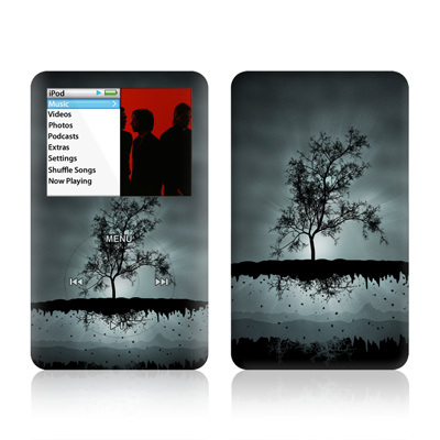 iPod Classic Skin - Flying Tree Black