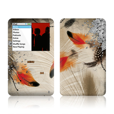 iPod Classic Skin - Feather Dance