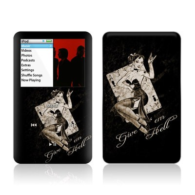 iPod Classic Skin - Give Em Hell