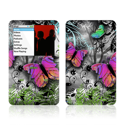 iPod Classic Skin - Goth Forest