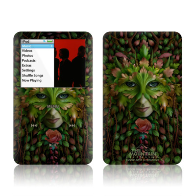 iPod Classic Skin - Green Woman
