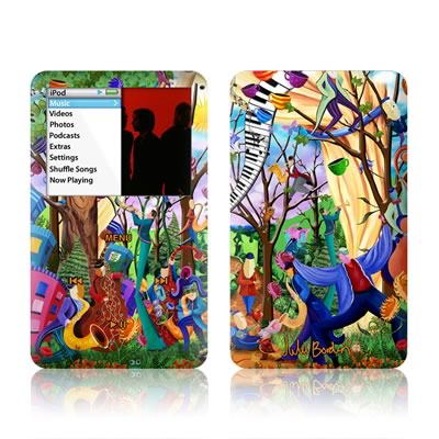 iPod Classic Skin - Happy Town Celebration