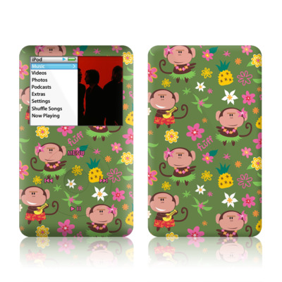 iPod Classic Skin - Hula Monkeys