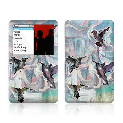 iPod Classic Skin - Hummingbirds
