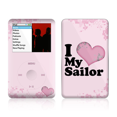 iPod Classic Skin - I Love My Sailor