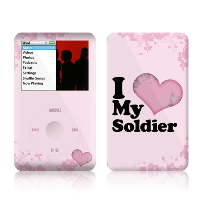 iPod Classic Skin - I Love My Soldier