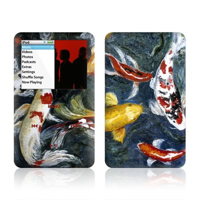iPod Classic Skin - Koi's Happiness