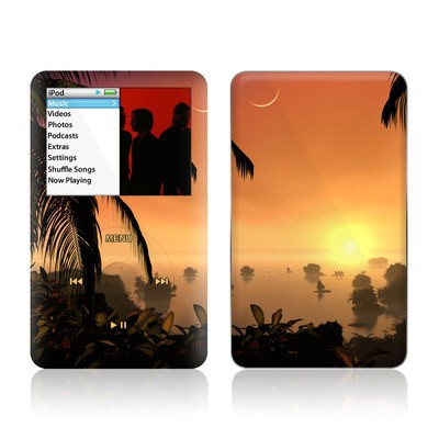iPod Classic Skin - Last Light Of The Sun