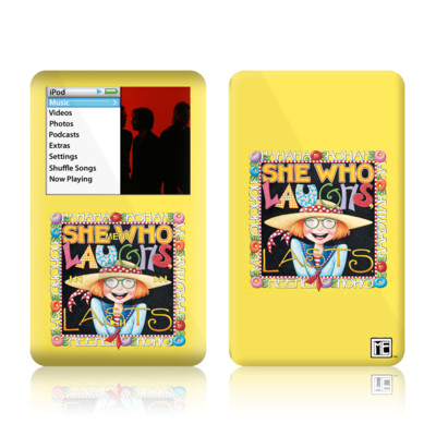 iPod Classic Skin - She Who Laughs